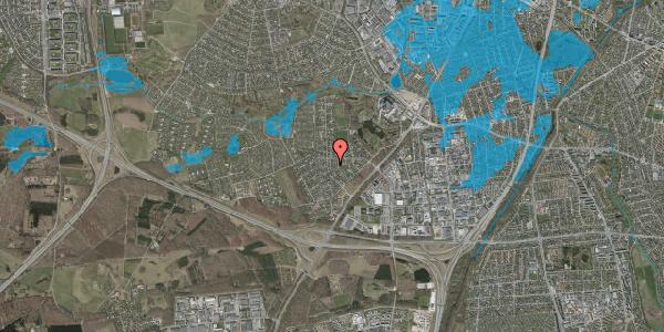 Oversvømmelsesrisiko fra vandløb på Brandsbjergvej 22, 2600 Glostrup