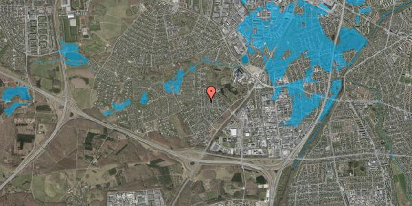 Oversvømmelsesrisiko fra vandløb på Brandsbjergvej 27, 2600 Glostrup
