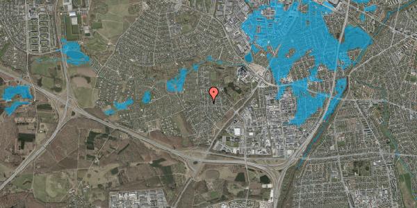 Oversvømmelsesrisiko fra vandløb på Brandsbjergvej 31, 2600 Glostrup