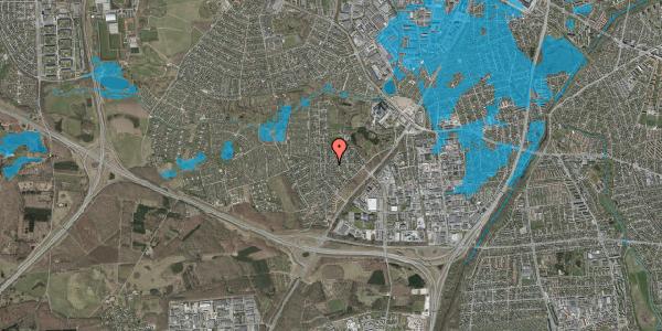 Oversvømmelsesrisiko fra vandløb på Brandsbjergvej 32, 2600 Glostrup