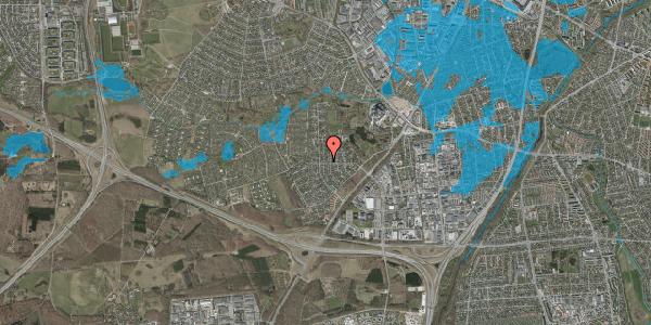 Oversvømmelsesrisiko fra vandløb på Brandsbjergvej 33, 2600 Glostrup
