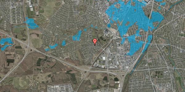 Oversvømmelsesrisiko fra vandløb på Brandsbjergvej 37, 2600 Glostrup