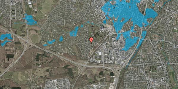Oversvømmelsesrisiko fra vandløb på Brandsbjergvej 38, 2600 Glostrup