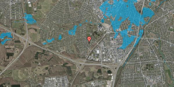 Oversvømmelsesrisiko fra vandløb på Brandsbjergvej 40, 2600 Glostrup