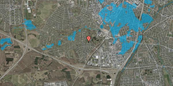 Oversvømmelsesrisiko fra vandløb på Brandsbjergvej 49, 2600 Glostrup