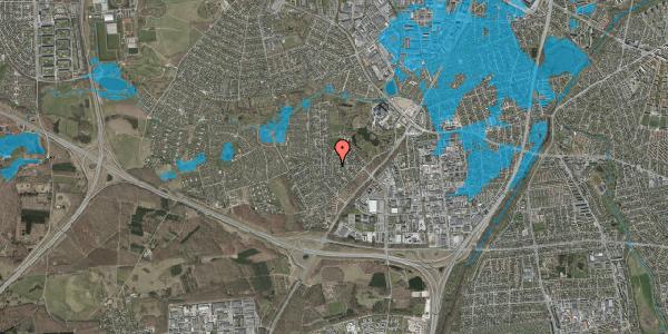 Oversvømmelsesrisiko fra vandløb på Brandsbjergvej 52, 2600 Glostrup