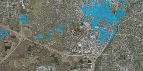 Oversvømmelsesrisiko fra vandløb på Brandsbjergvej 59, 2600 Glostrup