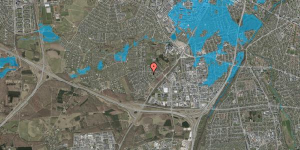 Oversvømmelsesrisiko fra vandløb på Brandsbjergvej 62, 2600 Glostrup