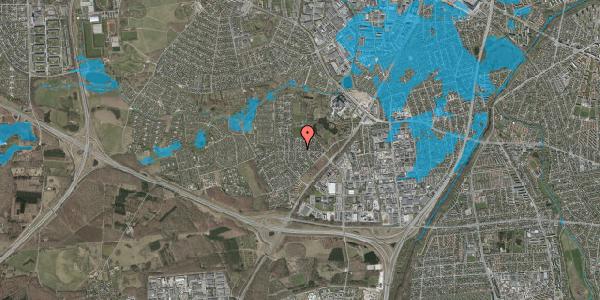 Oversvømmelsesrisiko fra vandløb på Brandsbjergvej 63, 2600 Glostrup