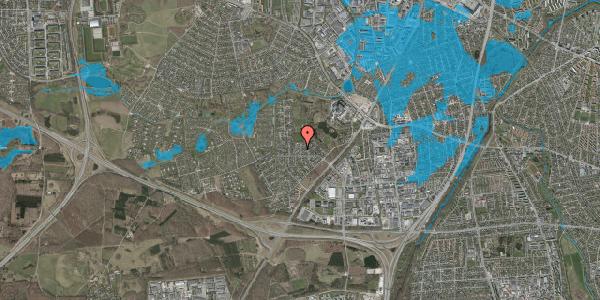 Oversvømmelsesrisiko fra vandløb på Brandsbjergvej 67, 2600 Glostrup