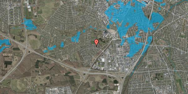 Oversvømmelsesrisiko fra vandløb på Brandsbjergvej 85, 2600 Glostrup