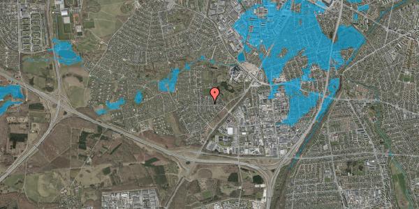 Oversvømmelsesrisiko fra vandløb på Brandsbjergvej 89, 2600 Glostrup