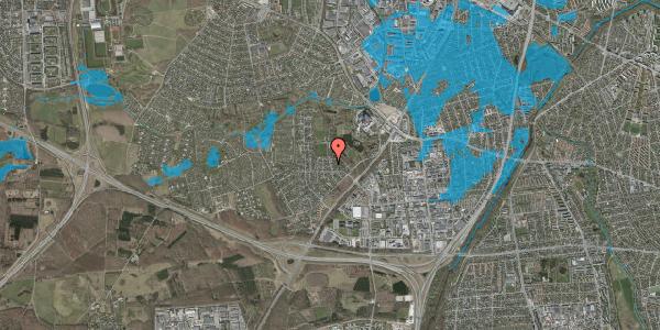 Oversvømmelsesrisiko fra vandløb på Brandsbjergvej 97, 2600 Glostrup