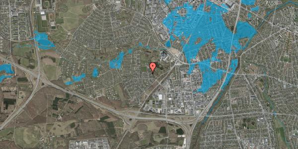 Oversvømmelsesrisiko fra vandløb på Brandsbjergvej 115, 2600 Glostrup