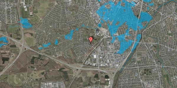 Oversvømmelsesrisiko fra vandløb på Brandsbjergvej 119, 2600 Glostrup