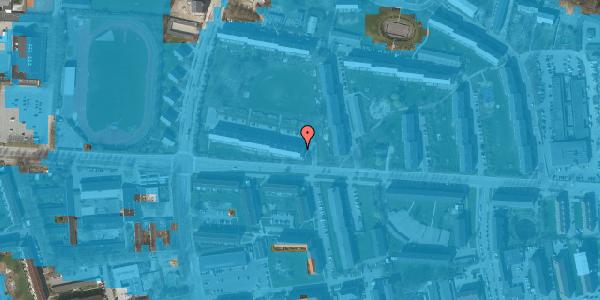 Oversvømmelsesrisiko fra vandløb på Brinken 1, st. tv, 2600 Glostrup