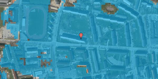 Oversvømmelsesrisiko fra vandløb på Brinken 5, 1. th, 2600 Glostrup