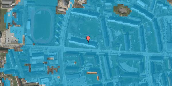 Oversvømmelsesrisiko fra vandløb på Brinken 7, 2. th, 2600 Glostrup