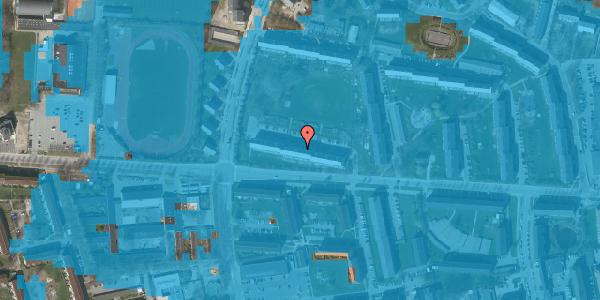 Oversvømmelsesrisiko fra vandløb på Brinken 9, 2. th, 2600 Glostrup