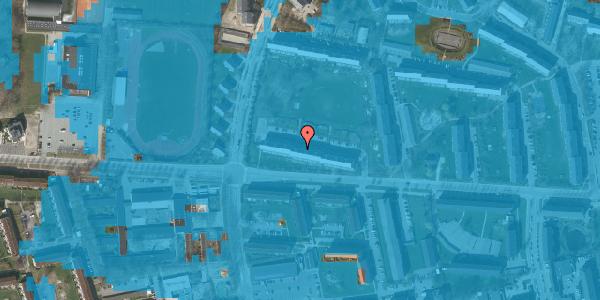 Oversvømmelsesrisiko fra vandløb på Brinken 11, 2. th, 2600 Glostrup