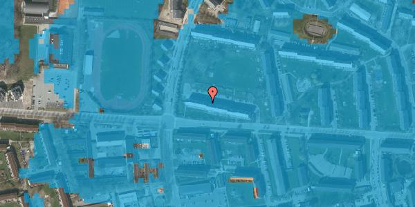 Oversvømmelsesrisiko fra vandløb på Brinken 13, st. th, 2600 Glostrup