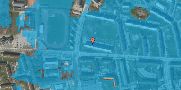 Oversvømmelsesrisiko fra vandløb på Brinken 15, 1. th, 2600 Glostrup