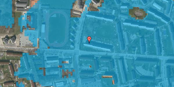 Oversvømmelsesrisiko fra vandløb på Brinken 17, st. tv, 2600 Glostrup