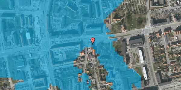 Oversvømmelsesrisiko fra vandløb på Bryggergårdsvej 1A, 1. 3, 2600 Glostrup
