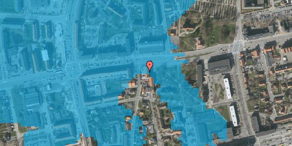 Oversvømmelsesrisiko fra vandløb på Bryggergårdsvej 1B, 1. 1, 2600 Glostrup