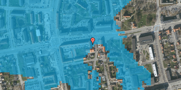 Oversvømmelsesrisiko fra vandløb på Bryggergårdsvej 2A, 2. tv, 2600 Glostrup