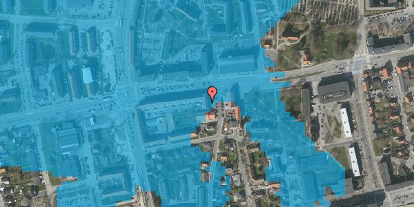 Oversvømmelsesrisiko fra vandløb på Bryggergårdsvej 2A, 4. tv, 2600 Glostrup