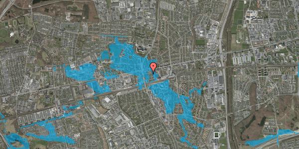 Oversvømmelsesrisiko fra vandløb på Bryggergårdsvej 5, 2600 Glostrup