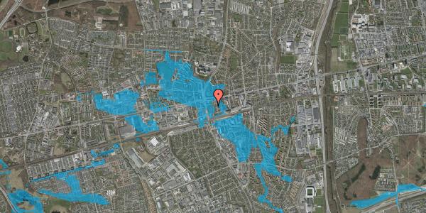 Oversvømmelsesrisiko fra vandløb på Bryggergårdsvej 6, 2600 Glostrup