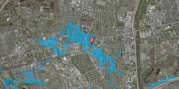 Oversvømmelsesrisiko fra vandløb på Bryggergårdsvej 8, 2600 Glostrup