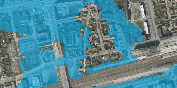 Oversvømmelsesrisiko fra vandløb på Bryggergårdsvej 13, 2600 Glostrup