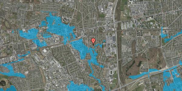Oversvømmelsesrisiko fra vandløb på Brøndbyvestervej 10, 1. d, 2600 Glostrup
