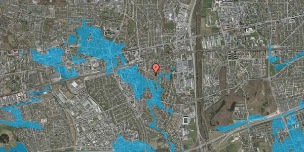 Oversvømmelsesrisiko fra vandløb på Brøndbyvestervej 12, st. , 2600 Glostrup