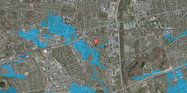 Oversvømmelsesrisiko fra vandløb på Brøndbyvestervej 16, st. , 2600 Glostrup