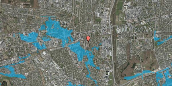 Oversvømmelsesrisiko fra vandløb på Brøndbyvestervej 17, 2. tv, 2600 Glostrup