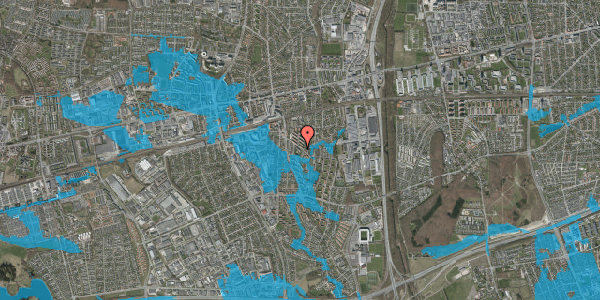 Oversvømmelsesrisiko fra vandløb på Brøndbyvestervej 18, 2. y, 2600 Glostrup