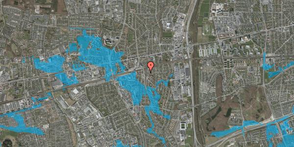 Oversvømmelsesrisiko fra vandløb på Brøndbyvestervej 19, 1. th, 2600 Glostrup