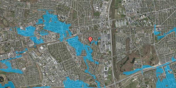 Oversvømmelsesrisiko fra vandløb på Brøndbyvestervej 20, st. 2, 2600 Glostrup