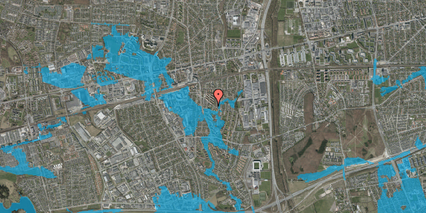 Oversvømmelsesrisiko fra vandløb på Brøndbyvestervej 20, 2. 35, 2600 Glostrup