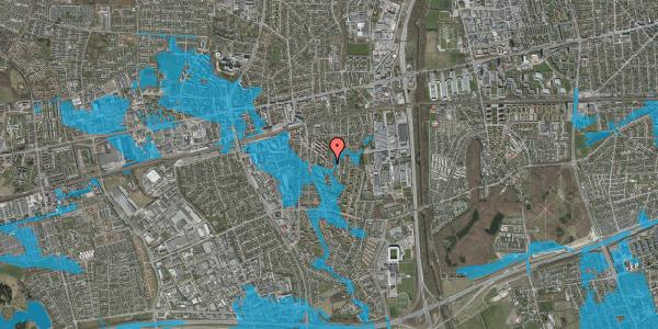 Oversvømmelsesrisiko fra vandløb på Brøndbyvestervej 24, 2600 Glostrup