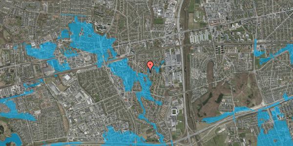 Oversvømmelsesrisiko fra vandløb på Brøndbyvestervej 26, 1. tv, 2600 Glostrup