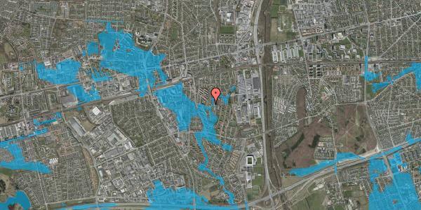 Oversvømmelsesrisiko fra vandløb på Brøndbyvestervej 28, 1. th, 2600 Glostrup
