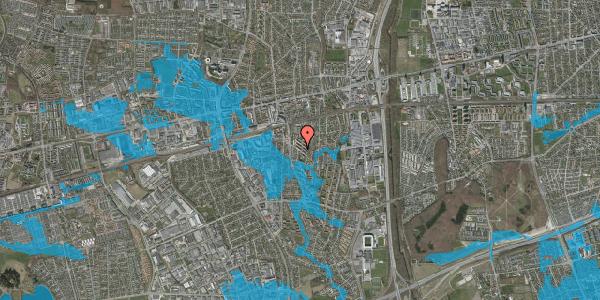 Oversvømmelsesrisiko fra vandløb på Brøndbyvestervej 29, st. tv, 2600 Glostrup
