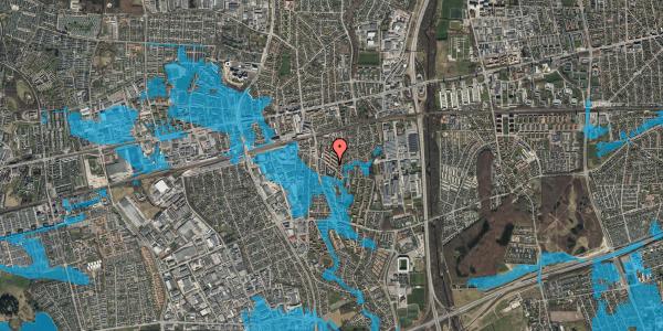 Oversvømmelsesrisiko fra vandløb på Brøndbyvestervej 31, st. th, 2600 Glostrup