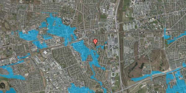 Oversvømmelsesrisiko fra vandløb på Brøndbyvestervej 31, 2. tv, 2600 Glostrup