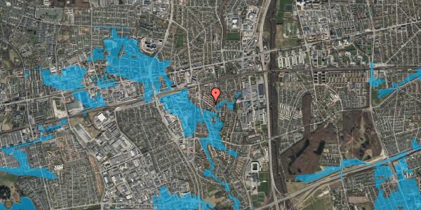 Oversvømmelsesrisiko fra vandløb på Brøndbyvestervej 35, 1. th, 2600 Glostrup